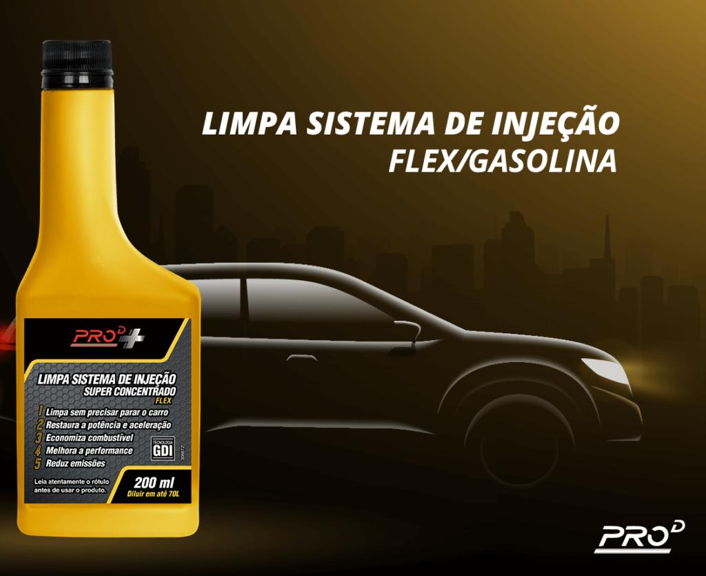 Aditivo Limpa Sistema de Injeção Flex/Gasolina PROD